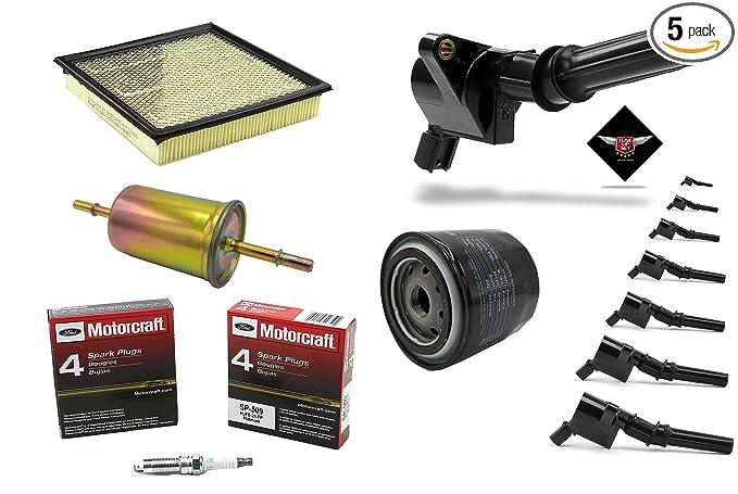 Amazon.com: Tune Up Kit 2010 Ford F150 4.6L V8 Ignition Coil DG508 Spark Plug SP509 FG1083: Automotive