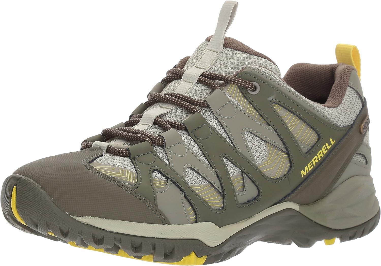 Merrell Women s Siren Hex Waterproof Hiking Shoe, Olive