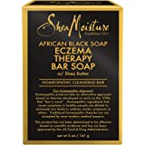 SheaMoisture Bar Soap for Eczema African Black Soap Bar Soap with Shea Butter 5 oz