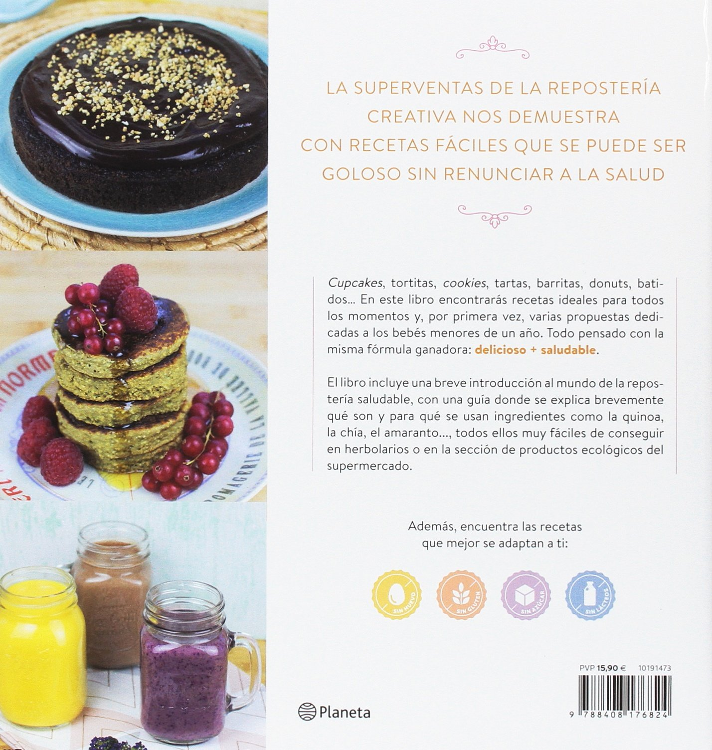 Repostería sana para ser feliz: Alma Obregón Fernández: 9788408176824: Amazon.com: Books