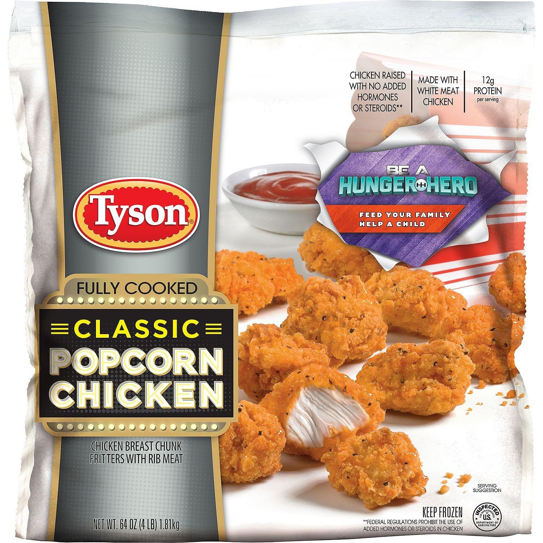 Tyson Classic Popcorn Pollo (4 lb): Amazon.com: Grocery ...