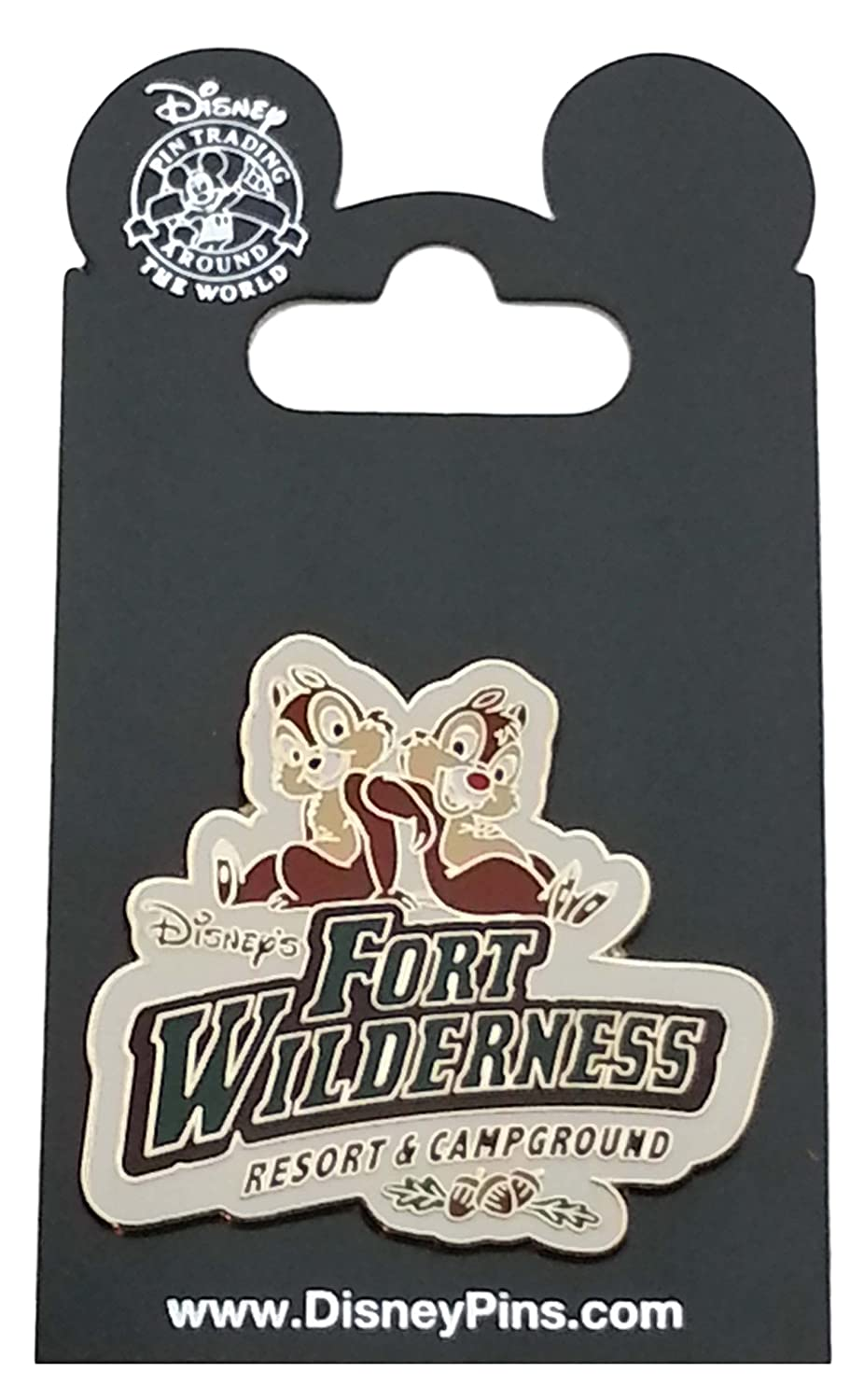 Disney Pin - WDW - Fort Wilderness – Chip & Dale