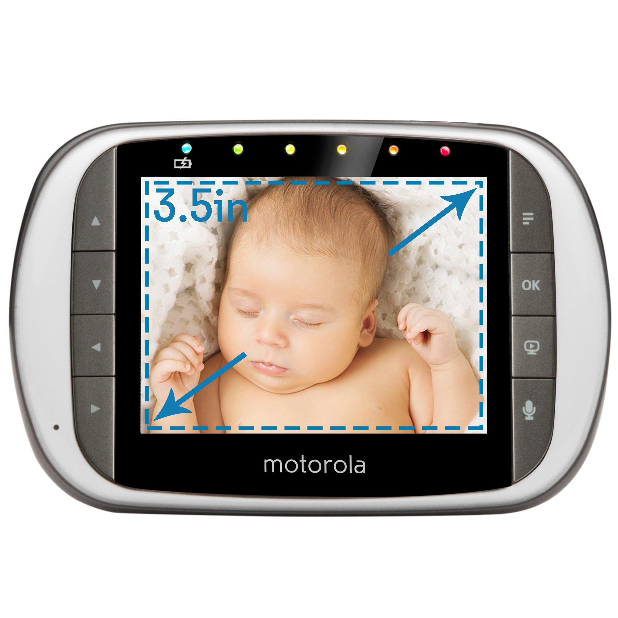 Motorola MBP853CONNECT-2 Dual Mode Baby Monitor with 2 Cameras and 3.5-Inch LCD Parent Monitor and Wi-Fi Internet Viewing by Motorola Baby (Image #8)