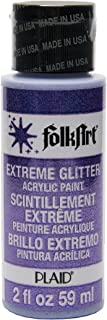 product image for FolkArt Extreme Glitter Acrylic Paint in Assorted Colors (2 oz), 2791, Purple