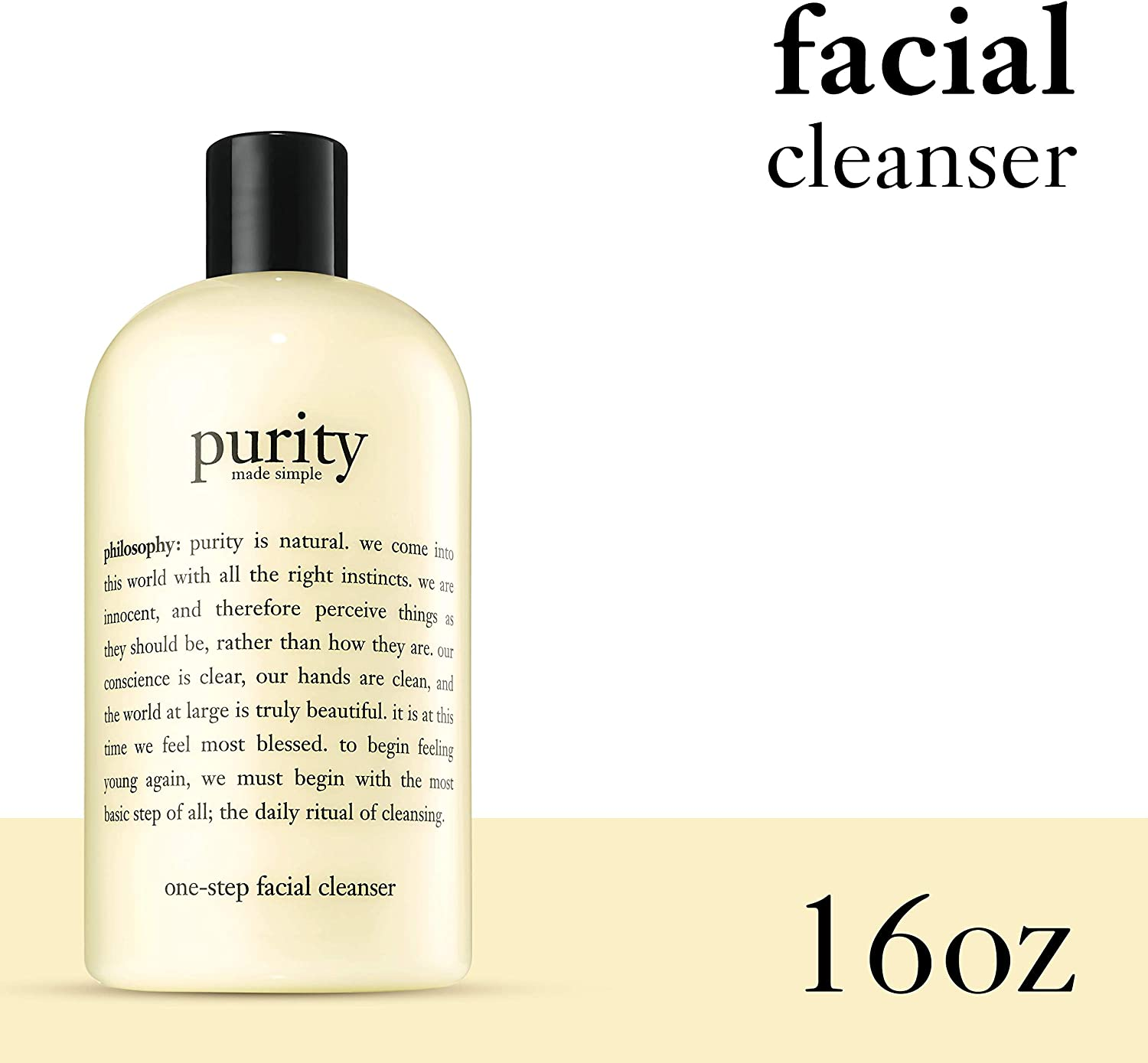 purity face wash