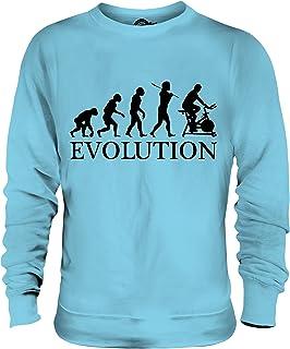 Candymix - Cycling Machine Evolution of Man - Unisex Sweatshirt Mens Ladies Sweater Jumper Top