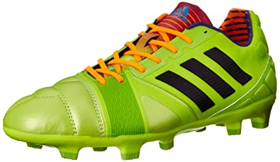 reputable site 7aa5c 86bb3 adidas Performance Men s Nitrocharge 2.0 TRX Firm-Ground Soccer Cleat, Solar  Slime Black