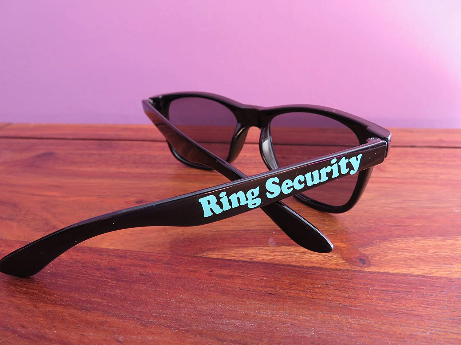 Ring Security personalized sunglasses, Wedding Ring Bearer ...