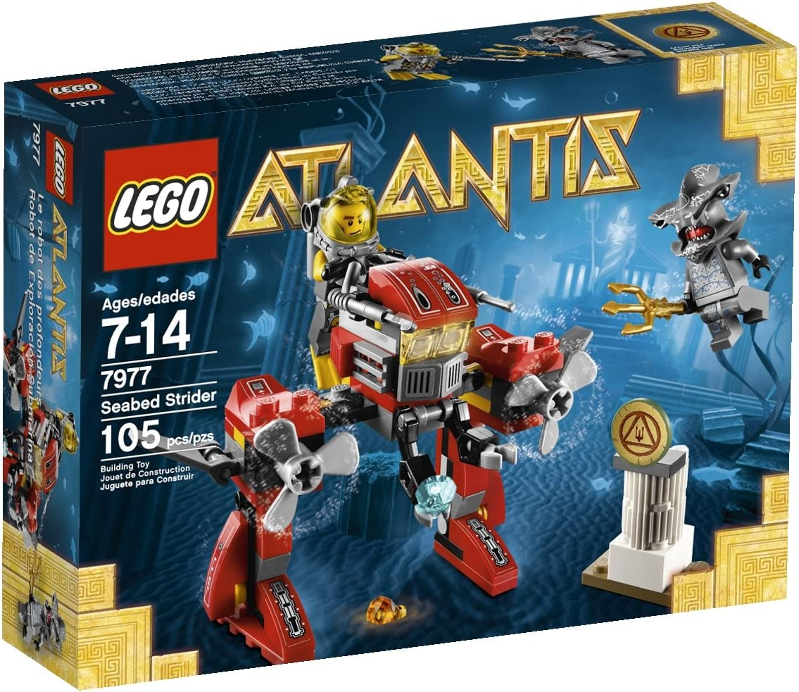 Top 9 Best LEGO Atlantis Sets Reviews in 2020 8