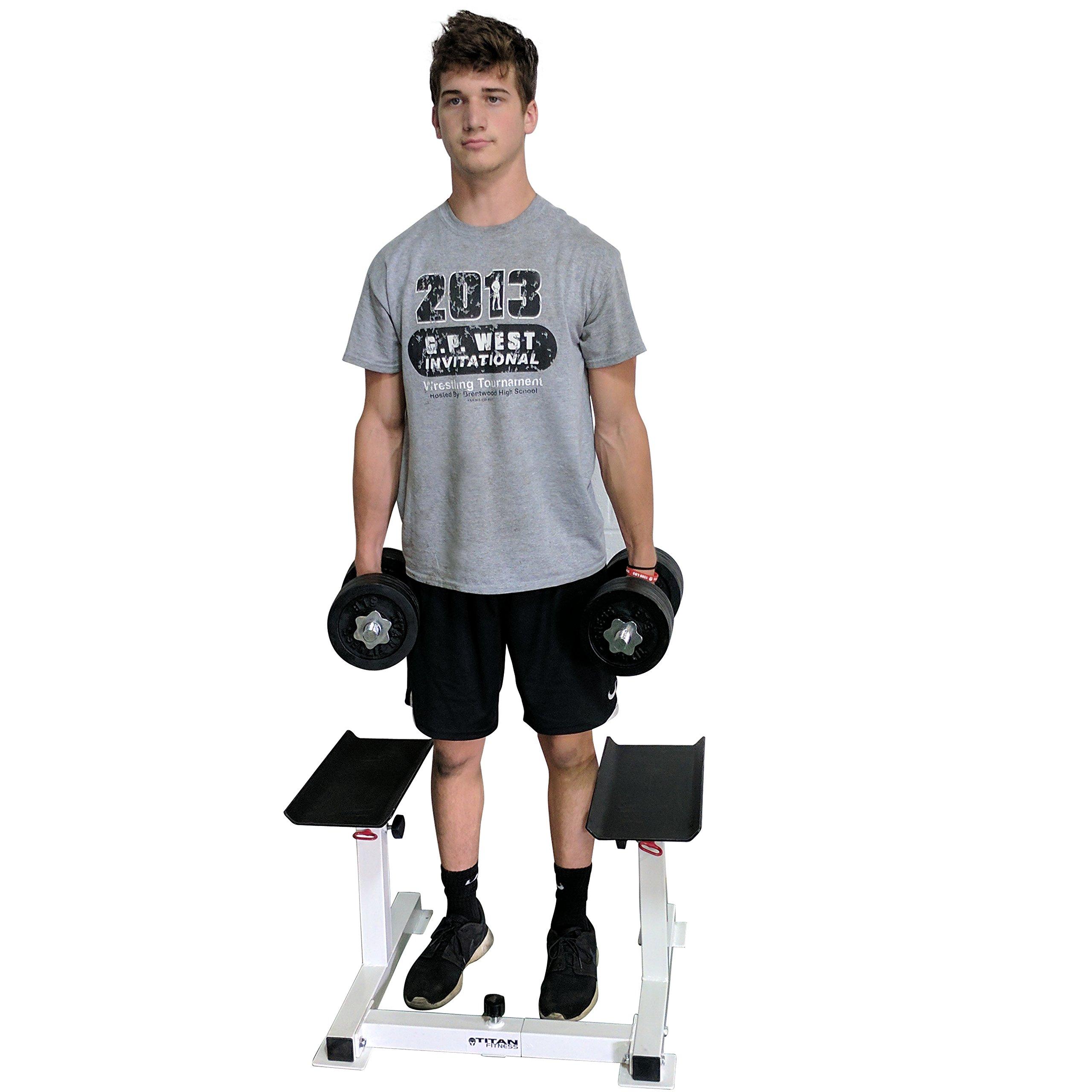 Titan Adjustable Height Dumbbell Holder by Titan Fitness (Image #6)