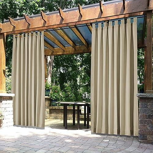 cololeaf Patio Curtain Outdoor