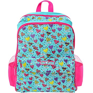 06c6030dd0 GirlZone  Backpack for Girls  Fun   Funky Rucksack School Bag for Kids Age  5 6 7 8 9+. Great Birthday Present Gift Idea for Girls.  Amazon.co.uk   Luggage