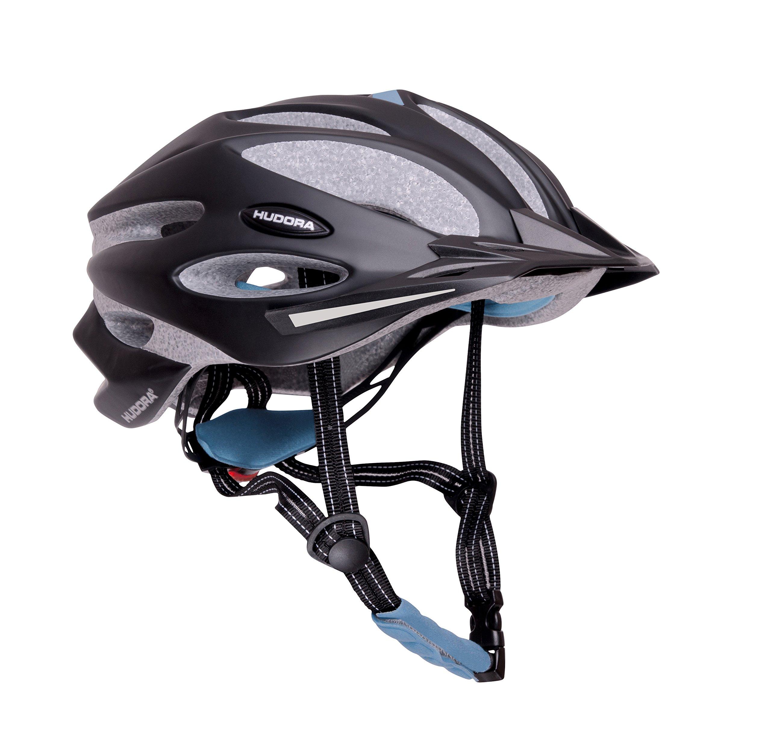 HUDORA ''Basalt Cycling Helmet, Size 21, 7-22, 8, Blue