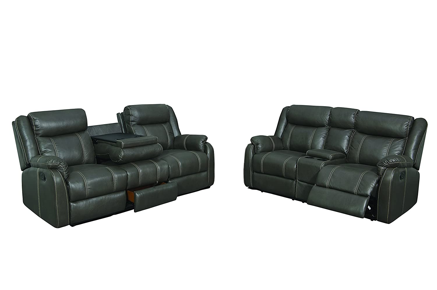 Amazon.com: Home Source U-64000-SL Sofa and Loveseat Set ...