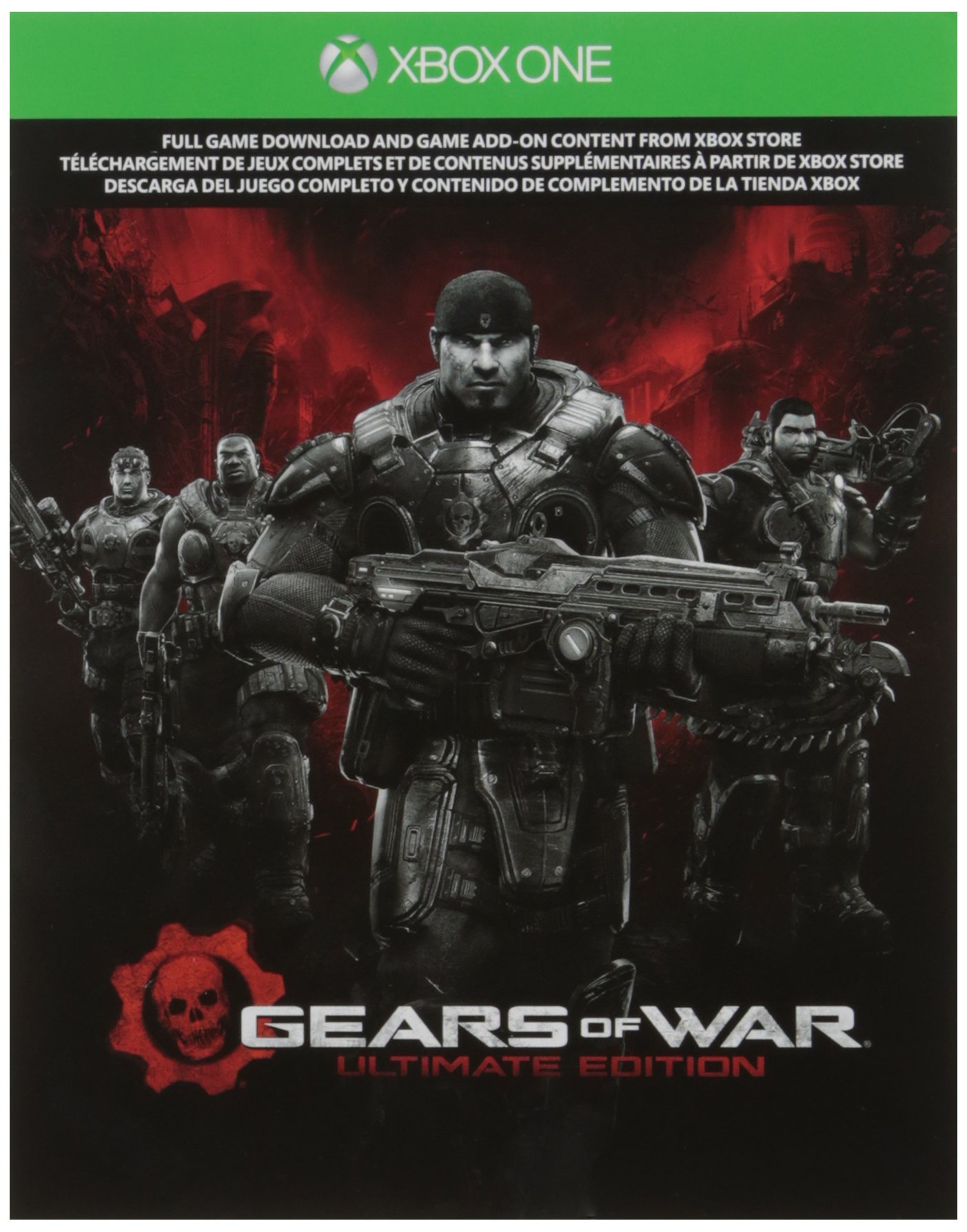 Amazon com: Gears of War - Ultimate Edition - Xbox One