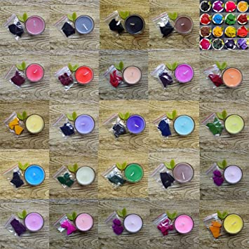 Amazon.com: 24 Dye Colors for 280-500 lb of Wax- Colors for ...