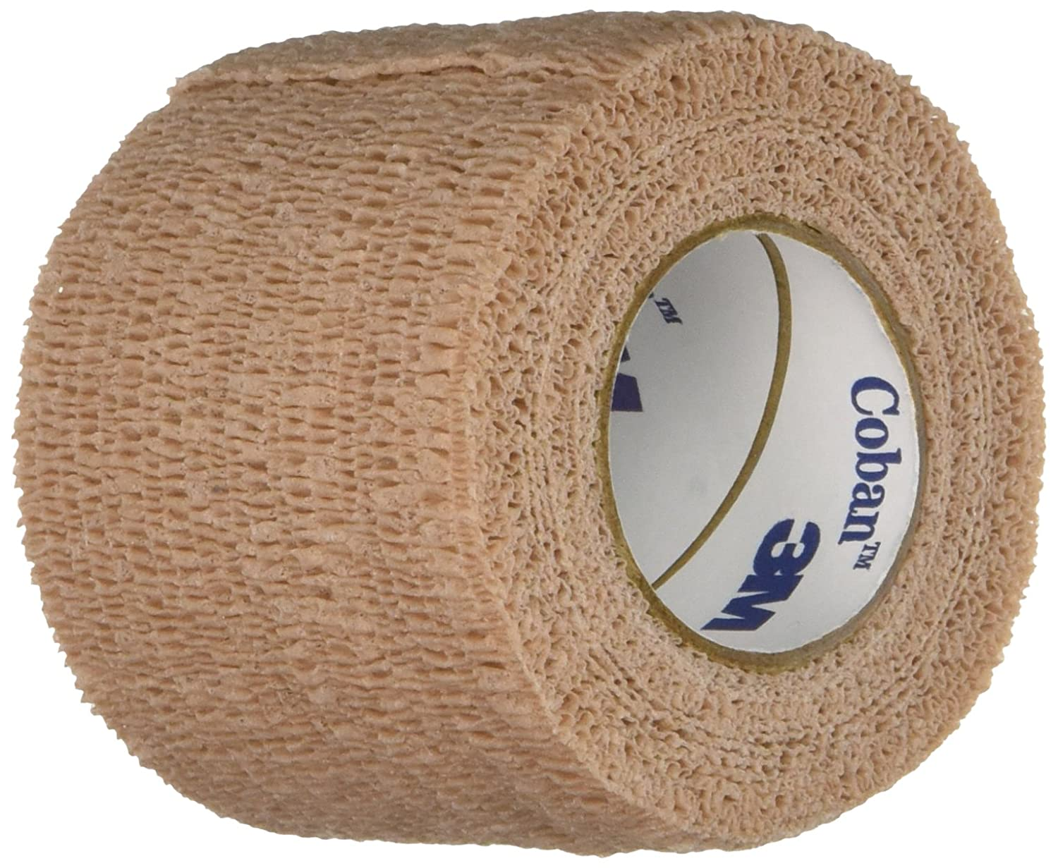 """3M Health Care 1582 Self-Adherent Wrap, 2"""" x 5 yd. Size, Tan (Pack of 36)"""