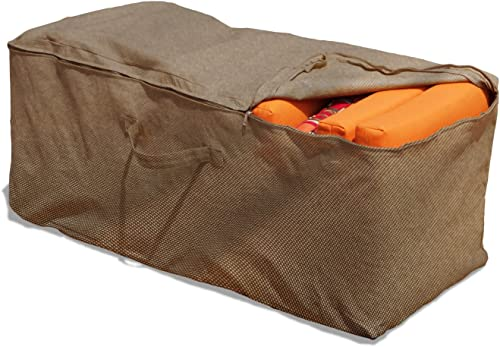 Budge P9A10PM1 English Garden Cushion Storage Bag Heavy Duty and Waterproof