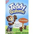 Teddy Grahams Chocolate Graham Snacks, 10 Ounce (Pack of 6)