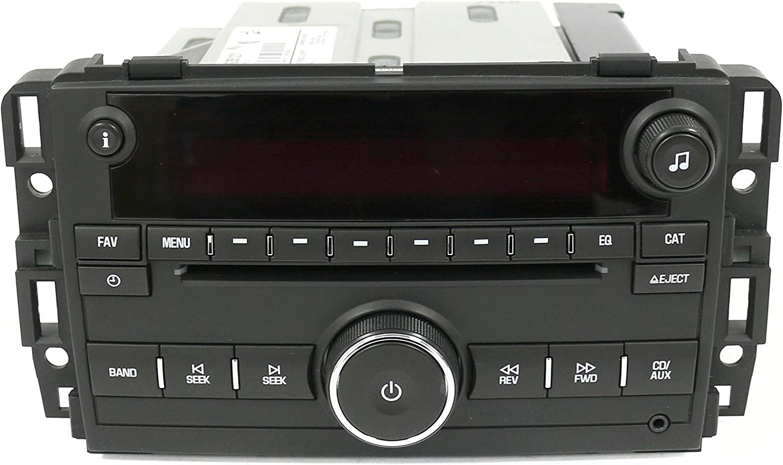 1 Factory Radio AM FM CD Player Radio w Aux Bluetooth UNLOCKED UUI Compatible With 2011-12 GMC Acadia
