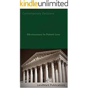 Obviousness In Patent Law (Intellectual Property Law Series)