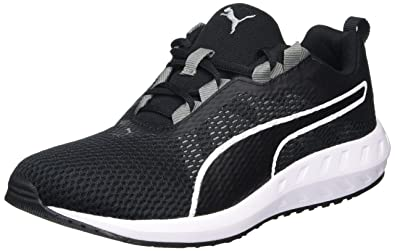 52addc3b9657 Puma Women s Flare 2 WN s Black and White Running Shoes - 4 UK India ...