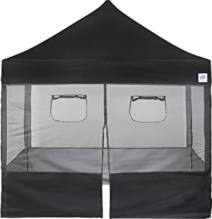 E-Z UP Food Booth Sidewall Package 10 by 10u0027 Black  sc 1 st  Amazon.com & Amazon.com : Impact Canopy 10 x 10 Sidewalls Kit Food Vendor Mesh ...