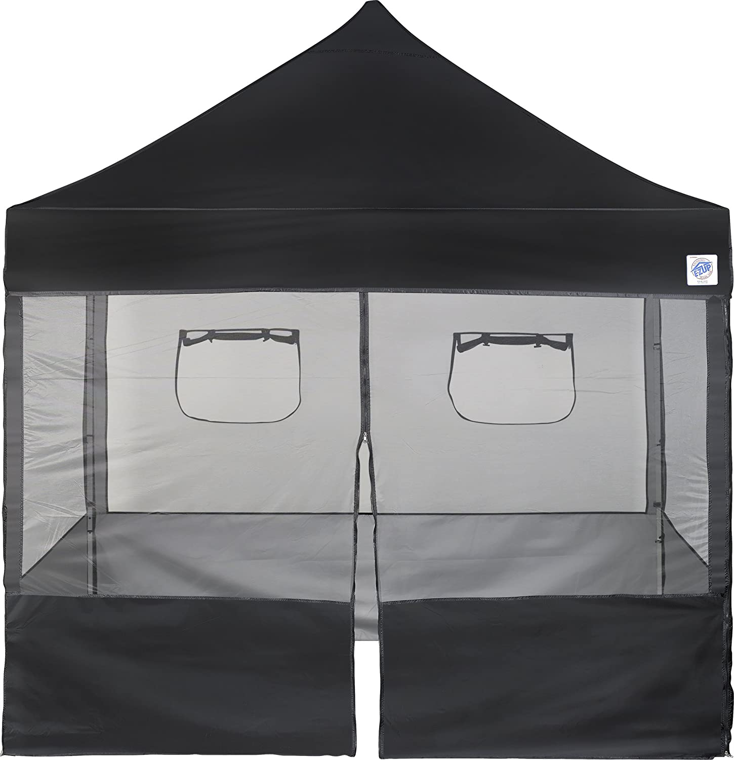 Amazon.com E-Z UP Food Booth Sidewall Package 10 by 10u0027 Black Garden u0026 Outdoor  sc 1 st  Amazon.com & Amazon.com: E-Z UP Food Booth Sidewall Package 10 by 10u0027 Black ...