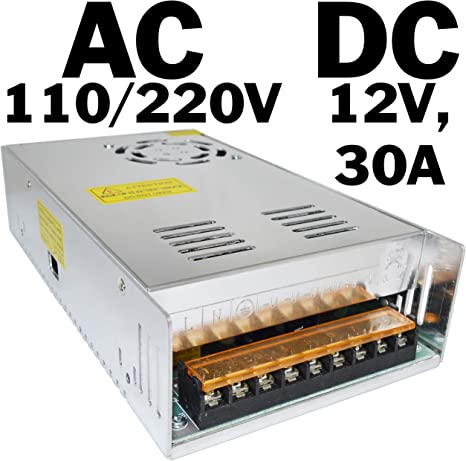 12 VDC // 5 A // 60 W Universal Regulated Switching Power Supplies