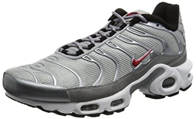 save off d7c24 c43c6 Amazon.com | Nike AIR MAX Plus QS 'Silver Bullet' - 903827 ...