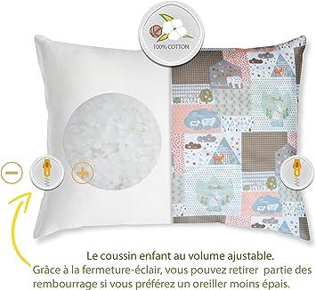 NATURECA 2 Pack Toddler Pillow with
