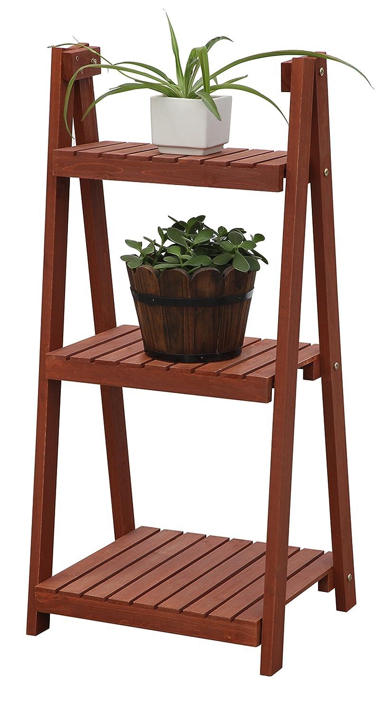 Amazon.com : Convenience Concepts 3 Tier Plant Stand : Patio, Lawn U0026 Garden
