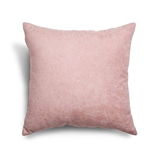 SuenosZzz- COJIN Relleno. Cojines Decoracion, Sofa,Cama, tapizado Acualine Antimanchas Salmon. Medidas: 48x48. Decoracion CASA.
