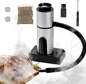 2021 New Smoking Gun, Portable Smoke Infuser Smoker Gun, Cocktail Smoker, Hand-held Cold Smoker Food Smoker for Any Meat Cocktail Cheese BBQ Sous Vide Steak Beef, Sausage, Vegetable Salad, etc.