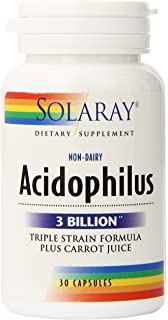 Solaray Multidophilus 20 Billion CFU, Suplemento Alimenticio, 50 ...