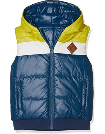 boboli Technical Fabric Reversible Vest For Boy, Abrigo para Niños