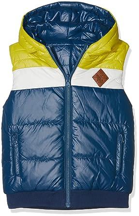 boboli Technical Fabric Reversible Vest For Boy, Abrigo para Niños: Amazon.es: Ropa y accesorios