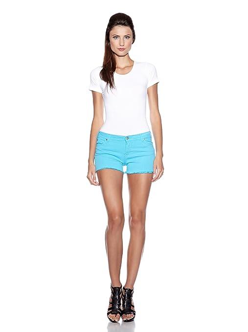 Vertigo Paris Short - Femme Vert Turquoise 42  Amazon.fr  Vêtements et  accessoires 88e1610686d