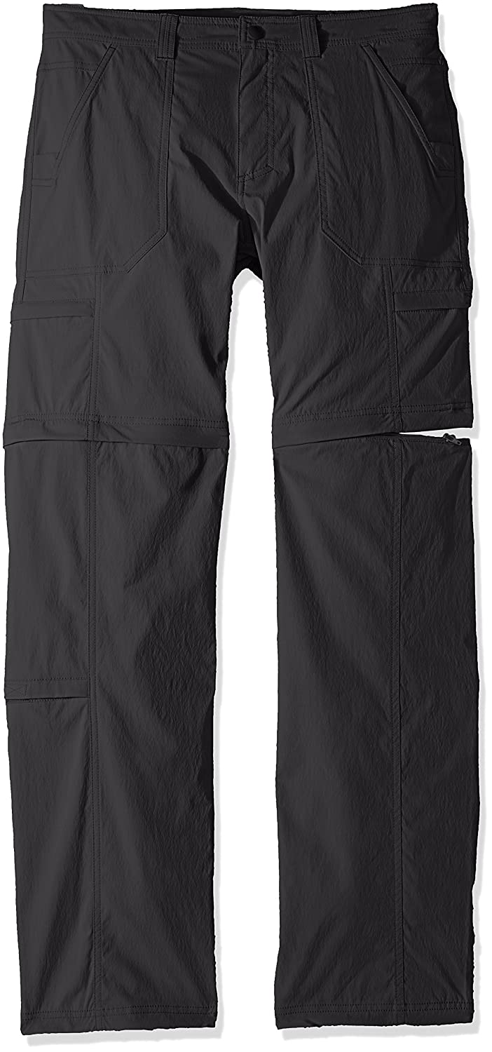 Royal Robbins Men's Traveler Zip N' Go Pants, Charcoal, Größe 42 x 32