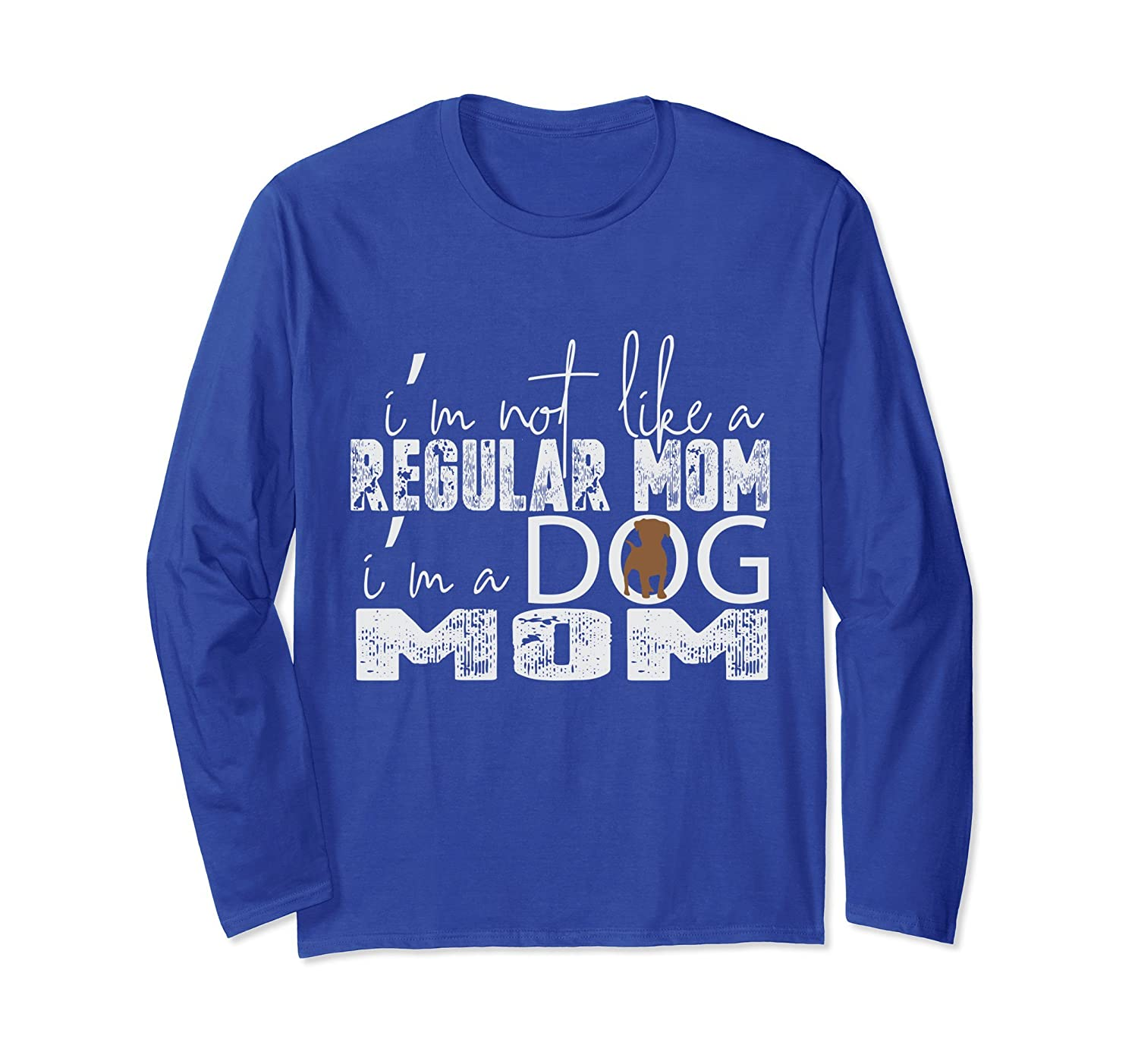 I'm A Dog Mom Cute and Clever Mother's Day Long Sleeve Shirt-AZP
