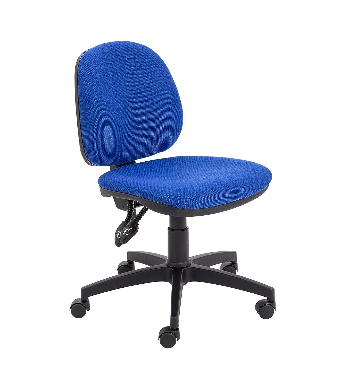 Black Office Hippo Mid Back Operator Chair 61 x 61 x 97 cm Fabric