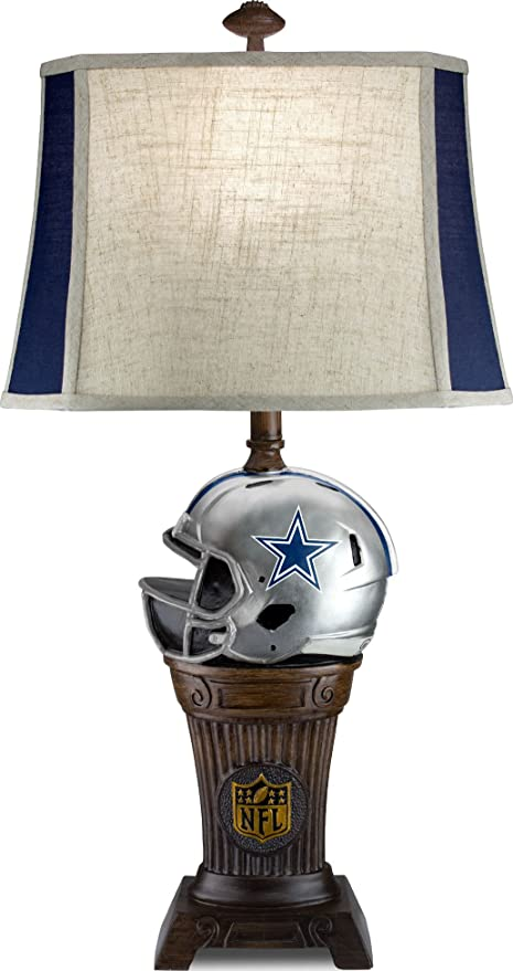 Imperial Officially Licensed Nfl Merchandise Trophy Lamp Dallas