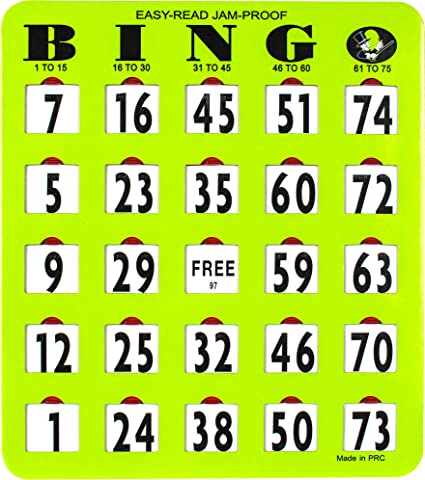 Buy bingo cards online