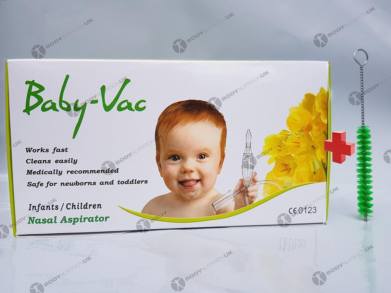 Nezpirateur - NASAL ASPIRATOR BABY-VAC + Special Brush - Full KIT Baby-Vac Arianna 271164