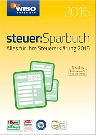 Wiso Steuersparbuch 2016 Pc Download Amazonde Software