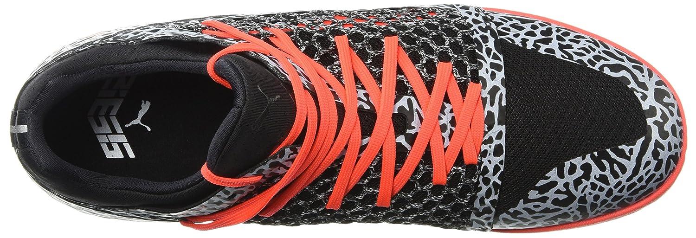 PUMA Men's 365 Netfit Texture CT Soccer schuhe, schwarz-rot Blast Blast Blast Weiß, 9.5 M US 33d337