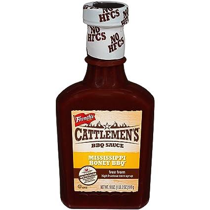 Cattlemens Mississippi - Salsa para barbacoa (sin leche ...