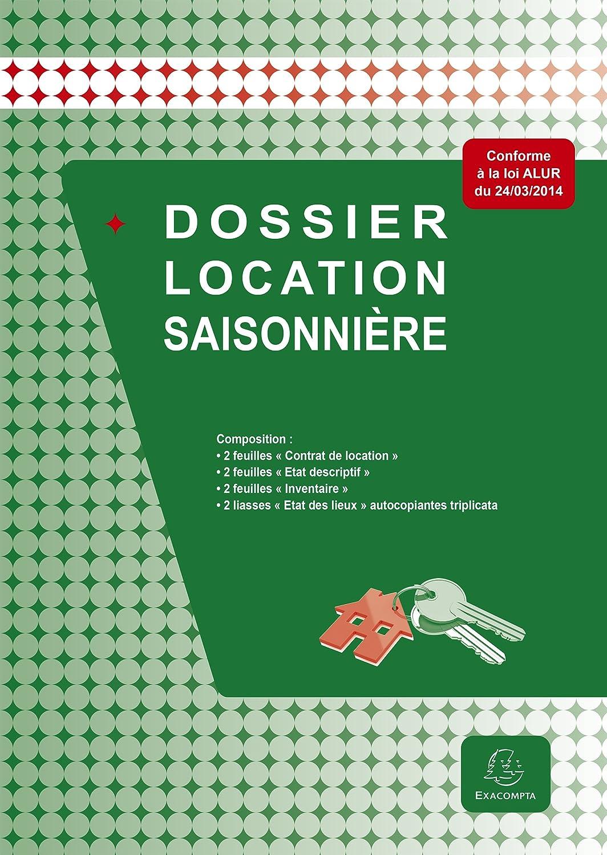 Exacompta 48E Dossier Location Saisonnière: Exacompta: Amazon.fr:  Fournitures De Bureau
