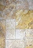 Fliese Travertin Naturstein beige Fliese Chiaro Antique