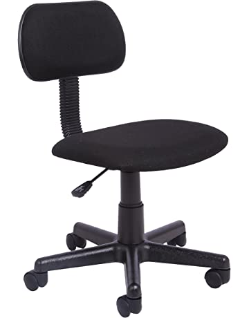 Office Essentials Gas Lift Height Adjustable Office Chair Fabric